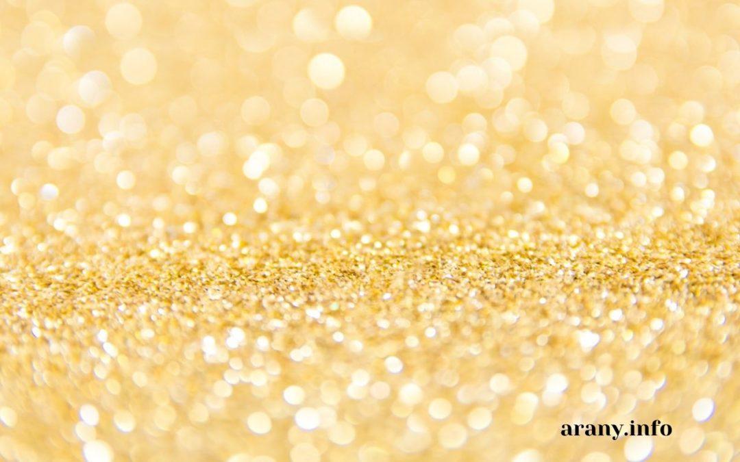 Arany jelentése a hétköznapokban